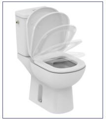 Installation WC-plombier- chauffagistes.fr Pose WC a sortie verticale & WC suspendu a petit Prix.