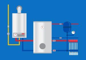 installation chauffage & production eau chaude: chauffagiste HECOURT-60380